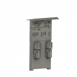 Perrongställverk skala H0 1:87